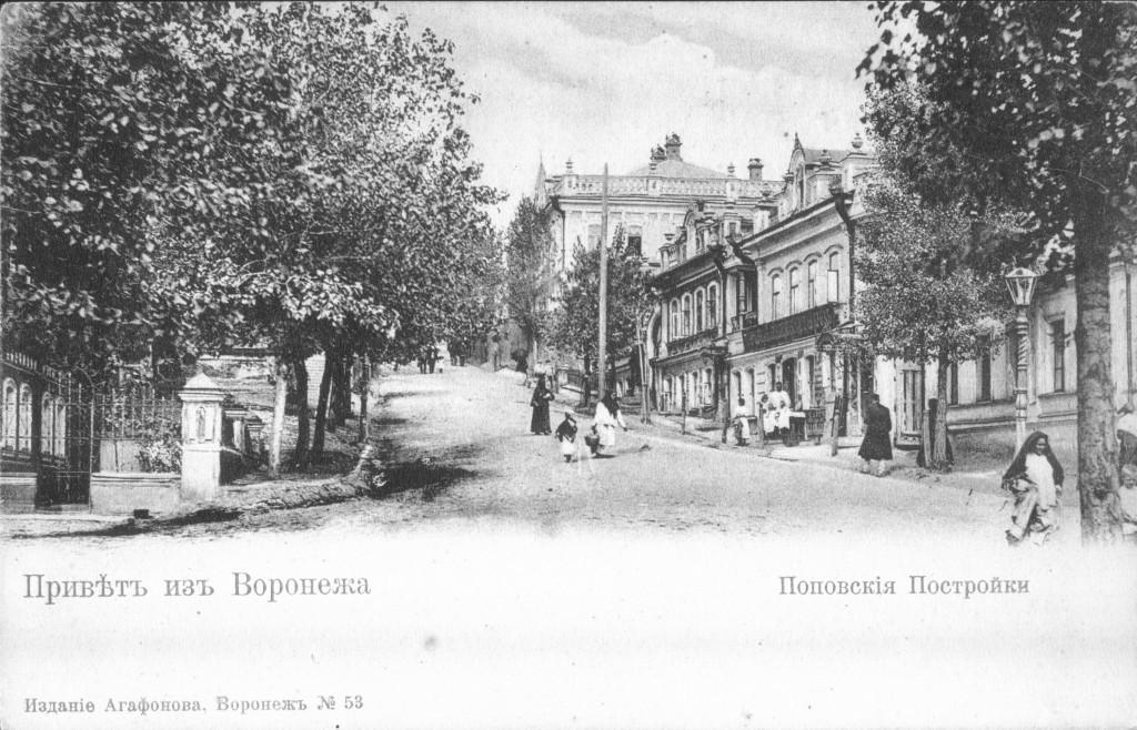 Попова гора в Воронеже старое фото