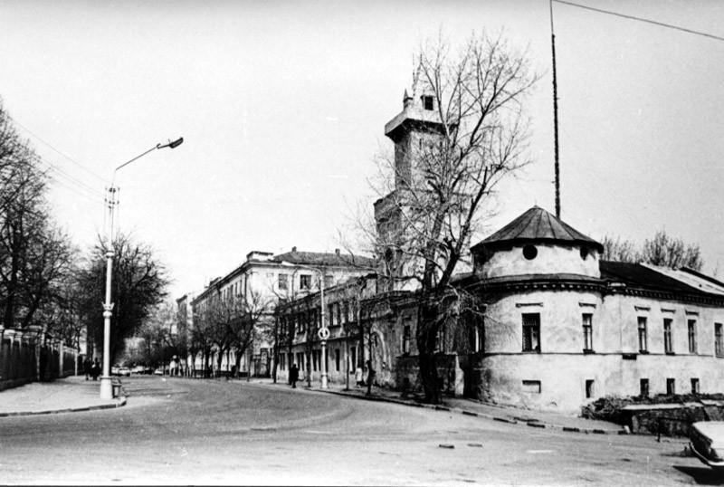 Пожарная часть в Воронеже старое фото