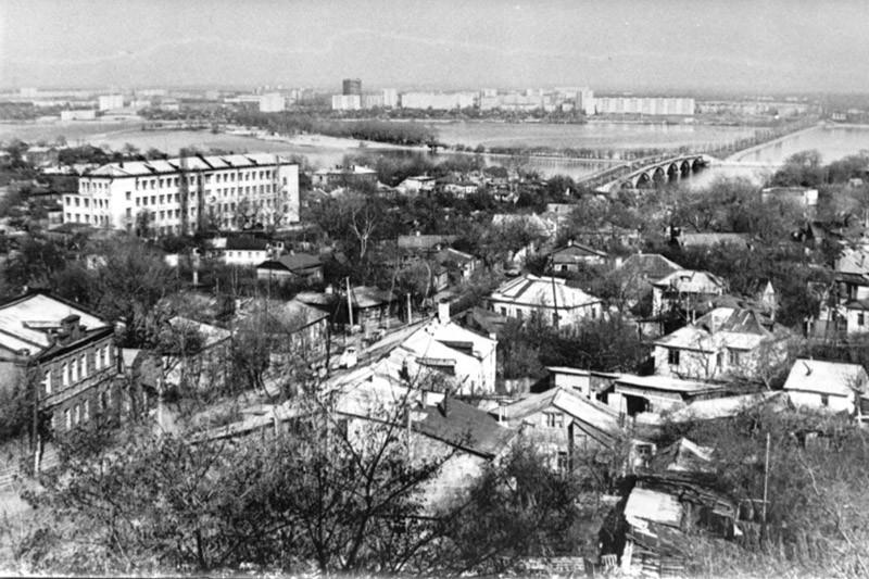 Правобережная часть в Воронеже старое фото