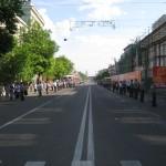 проспект Революции в Воронеже 9 мая фото