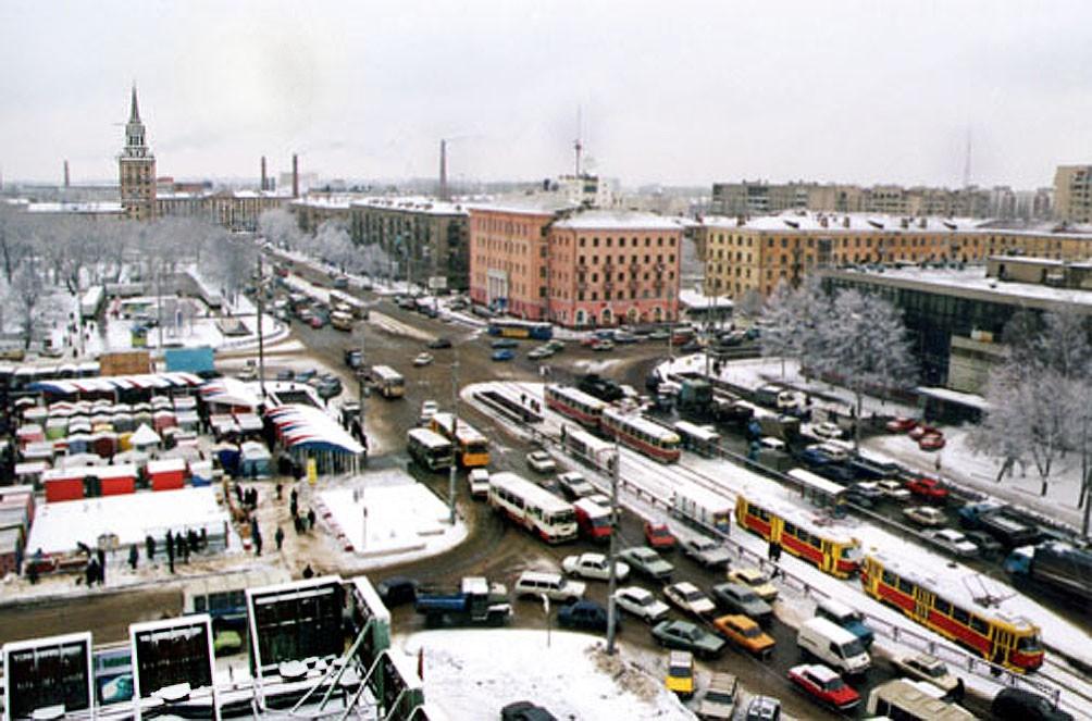Район Цирка 90-х годов в Воронеже фото
