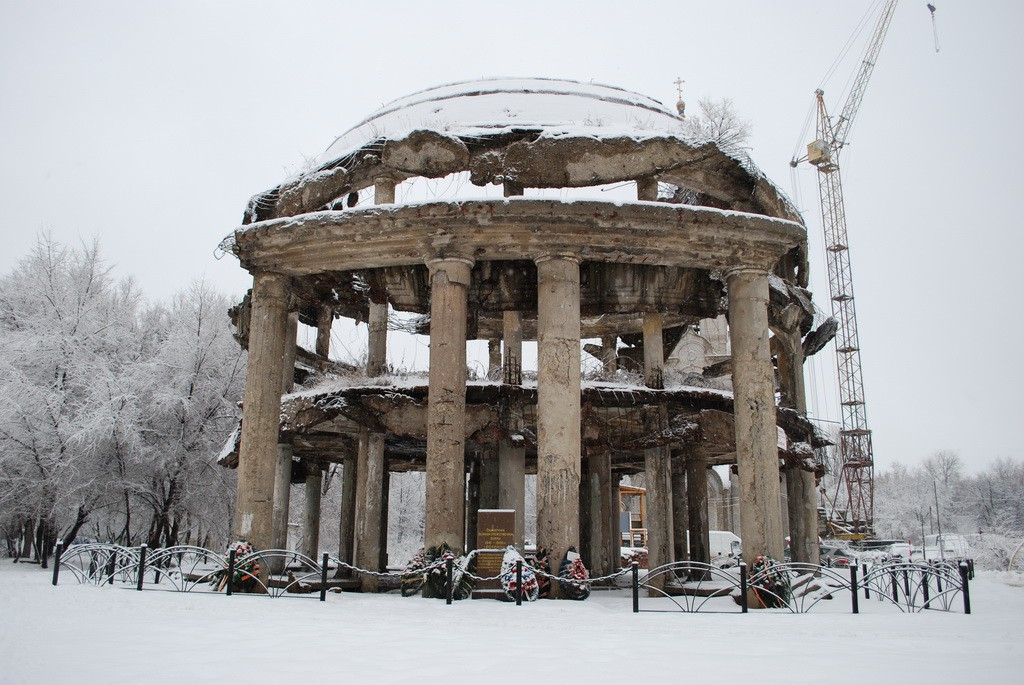 Ротонда в Воронеже фото