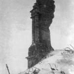 Руины колокольни в Воронеже 1943 год фото