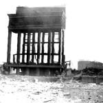 Руины обкома в Воронеже фото