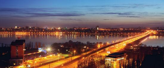 Северный мост город Воронеж фото