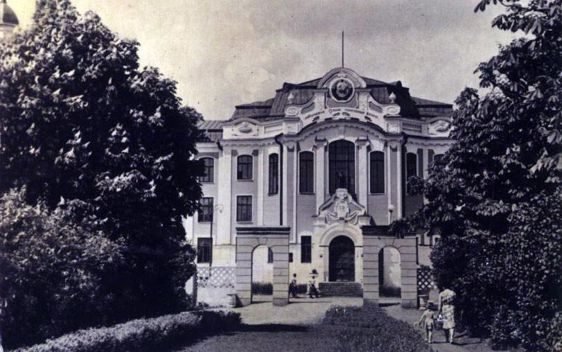 Сельскохозяйственный институт в Воронеже старое фото