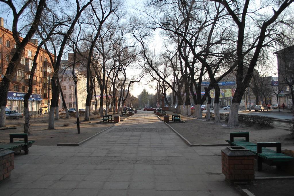 Сквер по ул.Кольцовская в Воронеже фото