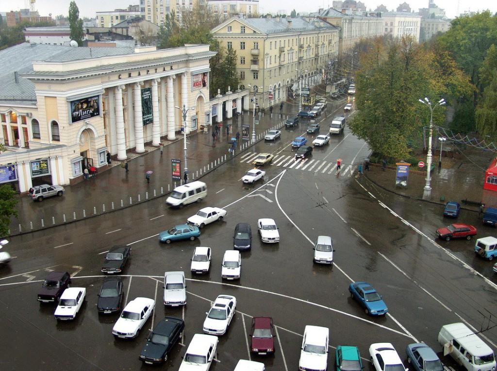 Спартак и Кольцовский сквер в Воронеже фото