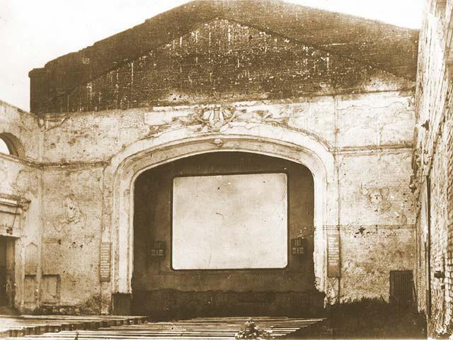 Кинотеатр Спартак в Воронеже 1943 год фото