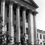 Здание строительного института в Воронеже старое фото