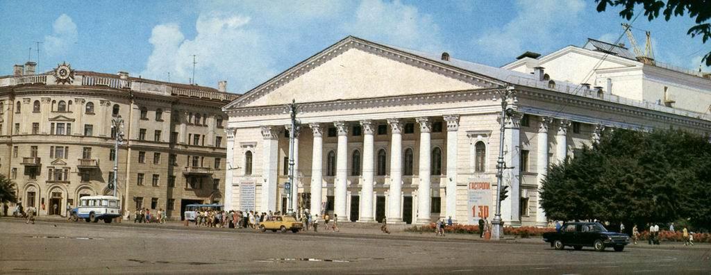 Театр Оперы и балета в Воронеже фото