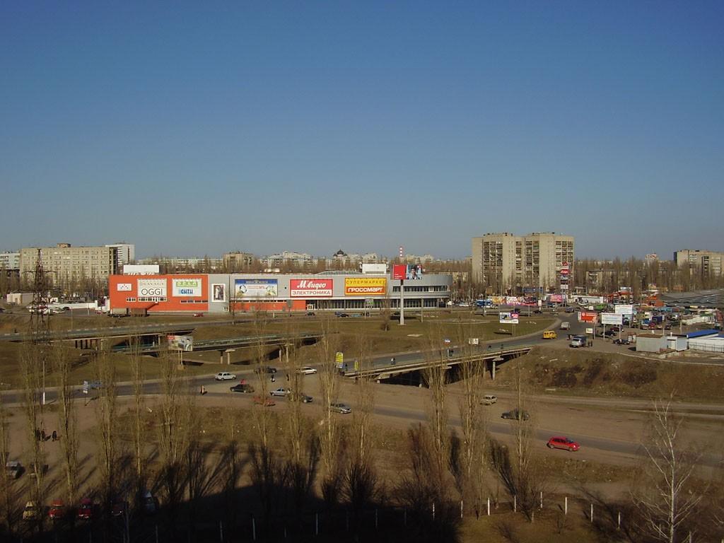 Торговый центр Армада в Воронеже с высоты фото