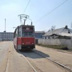 Воронежский трамвай фото 2009 года