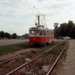 Трамвай на ул. Ленина в Воронеже фото