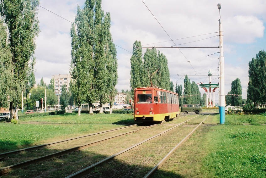 Трамвай 2003 год в Воронеже фото