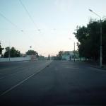 Ул. Ленина утром в Воронеже фото