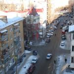 Улица Станкевича в Воронеже с высоты фото