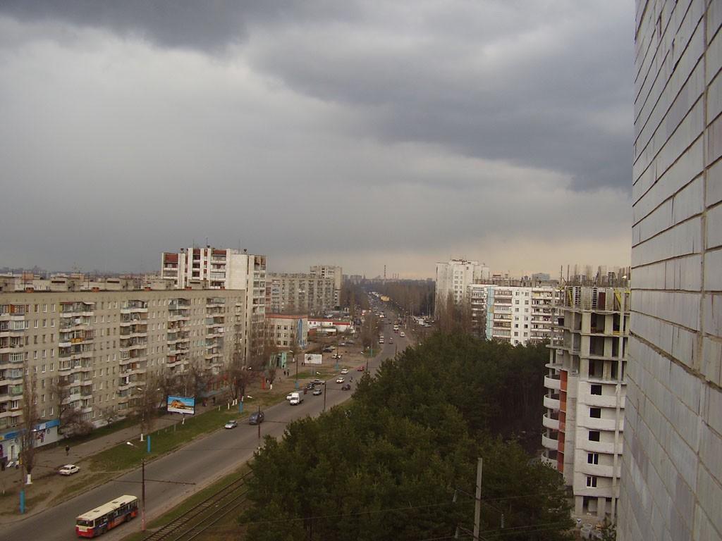 ул. Южно-Моравская в Воронеже фото