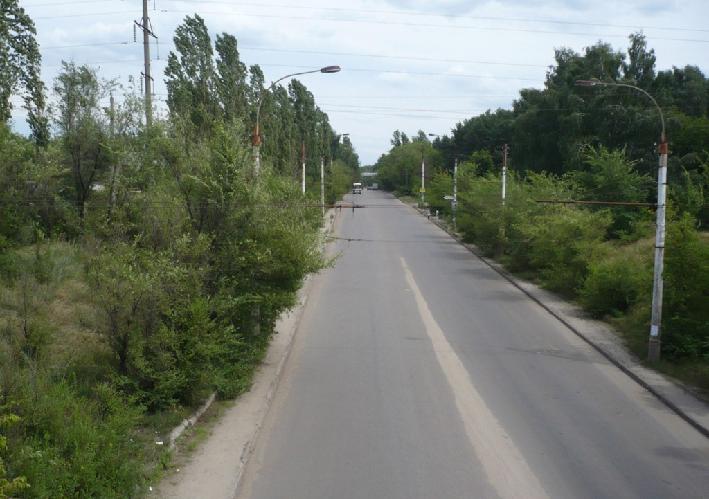 ул. Землячки в Воронеже 2007 год фото