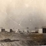 Вид на ул. Домостроителей в Воронеже старое фото
