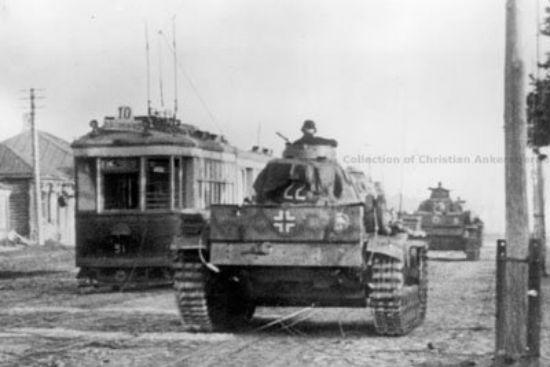 Фотография город Воронеж июль 1942 года