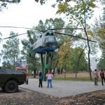 Вертолет в музее в Воронеже фото