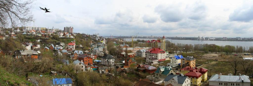 Вид на правый берег в Воронеже фото