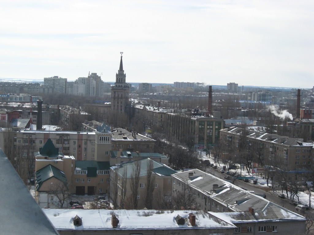 Панорама города Воронежа фото