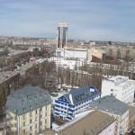 Панорама Воронежа с крыши фото
