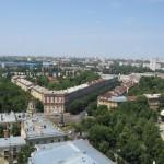 Вид с крыши ЮВЖД в Воронеже фото