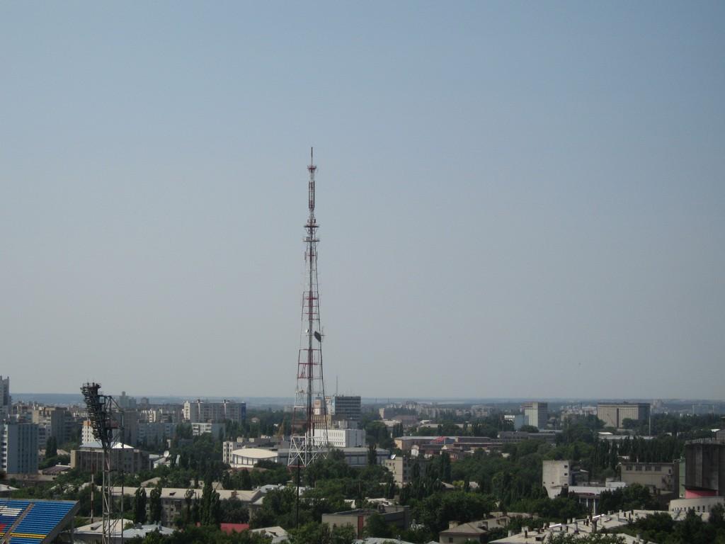 Вид с ЮВЖД в Воронеже фото