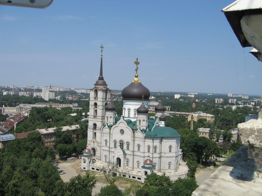 Вид на Благовещенский собор в Воронеже фото