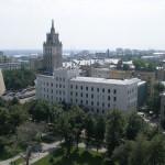 Вид на башню ЮВЖД с колокольни Благовещенского собора фото