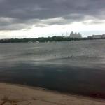 Водохранилище в Воронеже фото с облаками