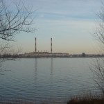 Вид издалека на ВОГРЭС в Воронеже фото