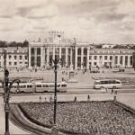 Вокзал Воронежа старое фото