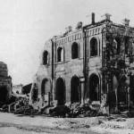 Взорванный Вокзал в войну в Воронеже фото