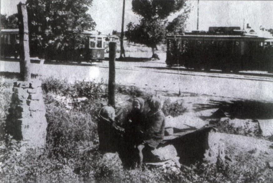 Землянка в Воронеже в годы ВОВ фото